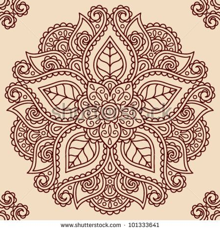 This is a cool design for a tattoo... hmmm but maybe with a cross in the center instead of a flower :)