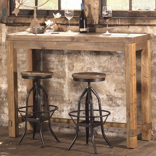 Stonemill Stool with Adjustable Seat - Products - 1825 interiors