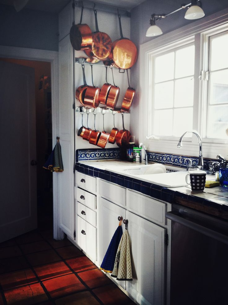 Creative Ideas To Organize Pots And Pans Storage On Your Kitchen Tiered  Hanging Pots And Pans Storage.