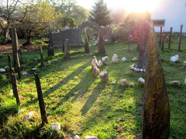 Winter Solstice - Solsticio de Inverno - Jardins da Quinta da Nogueira Castanheira de Pera