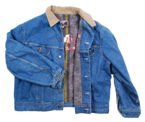 Vintage Winter Blanket Lined Mustang Denim Jean Jacket
