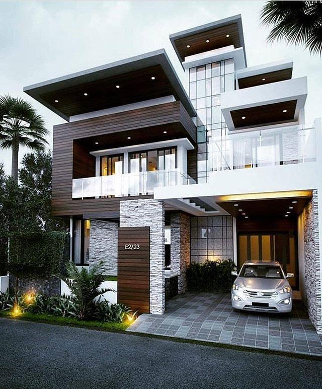 Modern Design Aesthetic House Exterior - TRENDECORS