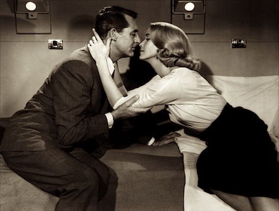 Cary Grant and Eva Marie Saint, North by Northwest 1959.