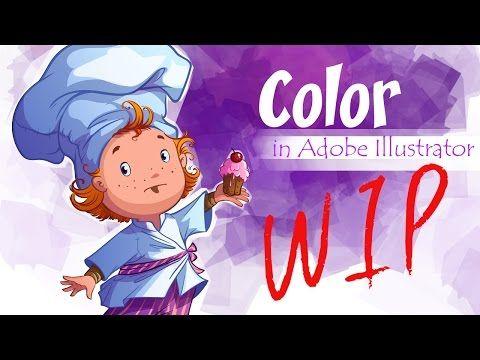 (2526) Color in Adobe Illustrator (scullion) - YouTube | photoshop and illustrator inspiration | digital media arts college | www.dmac.edu | 561.391.1148 | Pinterest