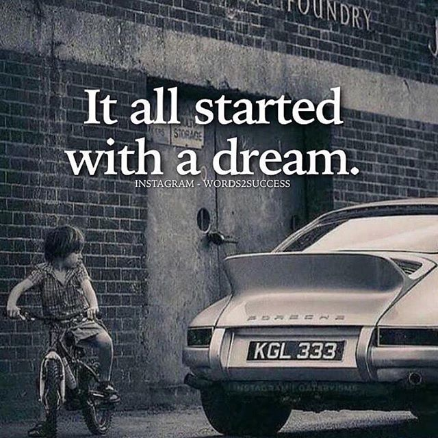 START WITH A DREAM, MAKE A PLAN, HUSTLE, FAIL, LEARN, SUCCEED. Props to @words2success