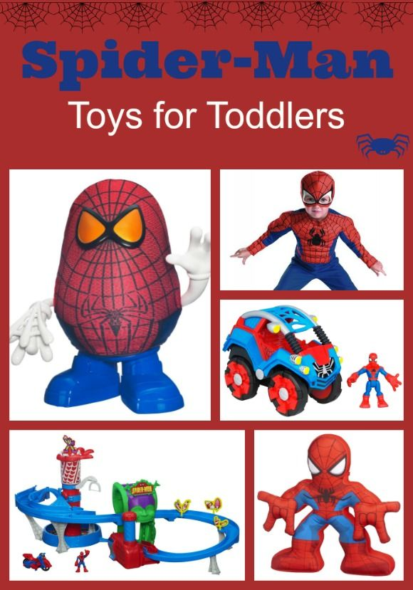Cool Spider-Man Toys For Toddlers for fun Cool Web-Slinging Fun. Those gift ideas are Perfect for a birthday party or Christmas
