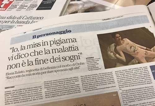 Spettacoli: #Morbo di #Crohn cos'è? / La Miss col pigiama Elena Zulato racconta la malattia: Frizzi mi sa... (link: http://ift.tt/2nViqlm )