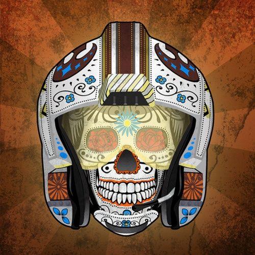 Star Wars Sugar Skull | Star Wars Sugar Skull