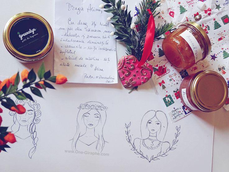 Work in progress #watercolor #girls  #onegiraphe #logo #design #logodesign #branding #brand #logodesigner #sketches