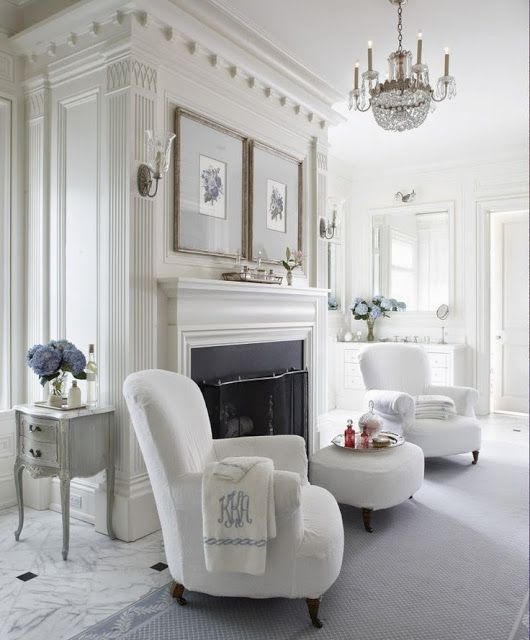 South Shore Decorating Blog: New Series: Answering Reader's Questions. Part 1: Sitting Areas with Fireplaces