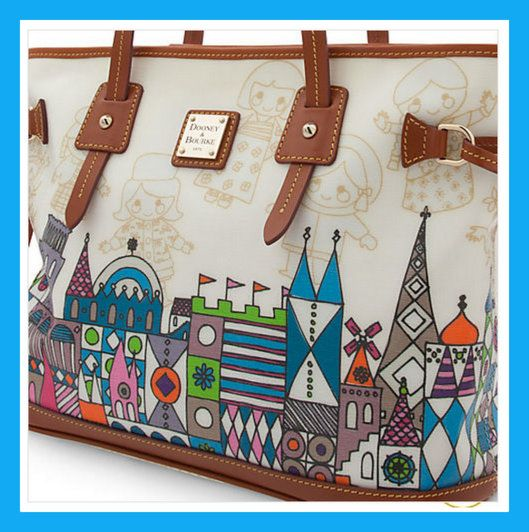 """The New """"it's a small world"""" Disney Dooney & Bourke Handbag: Can You Afford It?"""
