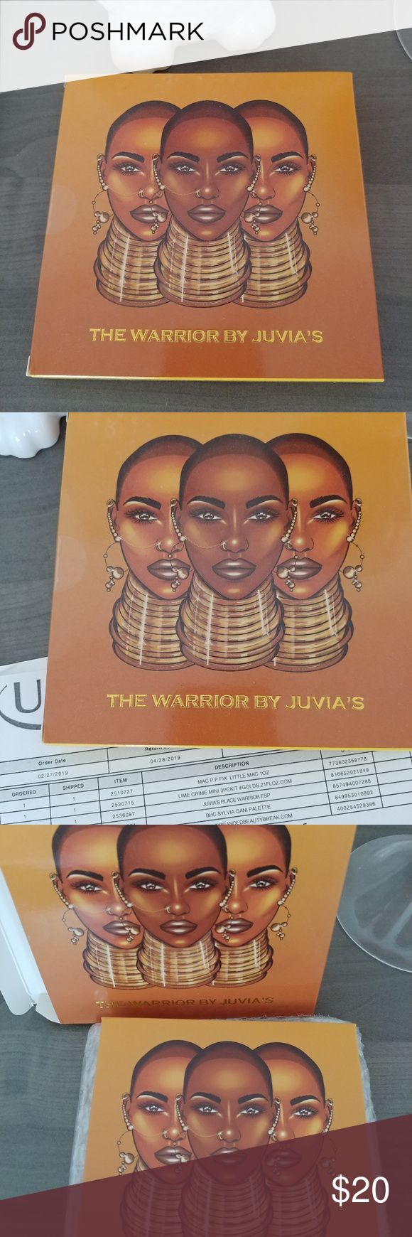 NWT The Warrior von Juvia's Palette NWT The Warrior von Juvia's Palette B …   – My Posh Picks