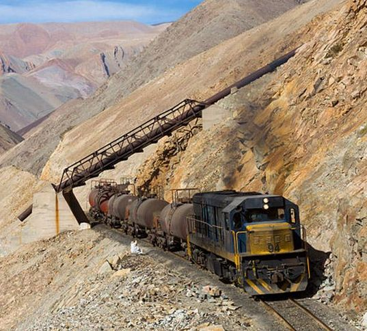 Chile is home to amazing landscapes, and the Chanaral-Llanta-Potrerillos rail line traces such landscapes and has earned the title as one of the most stunning railways in the world.