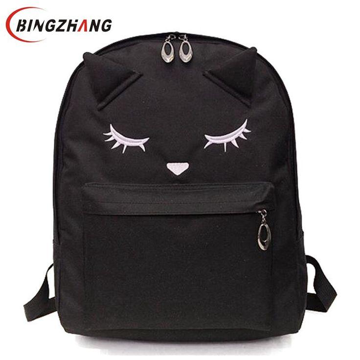 $21.63 (Buy here: https://alitems.com/g/1e8d114494ebda23ff8b16525dc3e8/?i=5&ulp=https%3A%2F%2Fwww.aliexpress.com%2Fitem%2FCute-Cartoon-Embroidery-Cat-Printing-Backpack-Nylon-Backpacks-For-Teenage-Girls-Style-Casual-Backpack-School-Bag%2F32699606973.html ) Cute Cartoon Embroidery Cat Printing Backpack Nylon Backpacks For Teenage Girls Style Casual Backpack School Bag L4-2622 for just $21.63