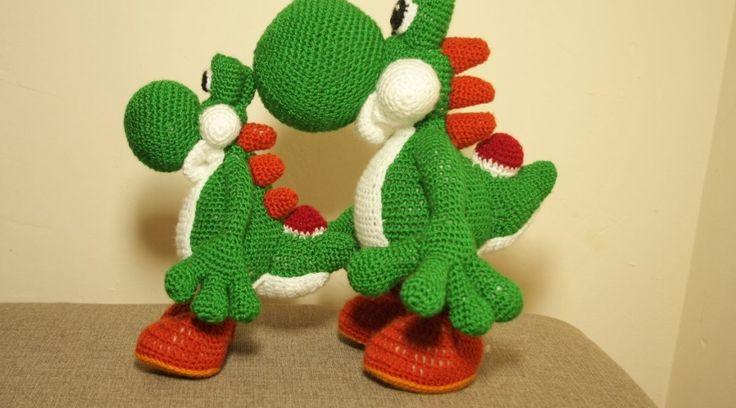 Crochet YOSHI and yoshi dragon :)