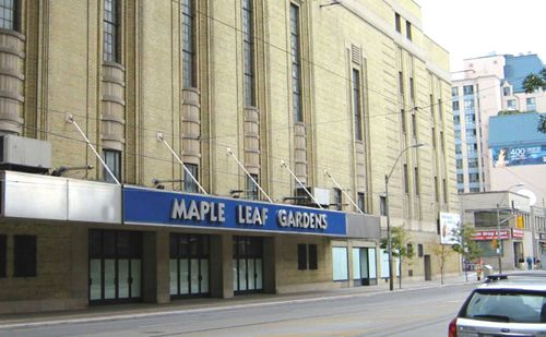 The old Maple Leaf Gardens. I saw the Leafs play the Minnesota North Stars the year the Pens beat them to get their first ever Stanley Cup. During the deciding game I was at a wedding with my wife-to-be. The bride from that wedding would be our matron of honor the next year. We got married early in the playoffs the next year to avoid such issues.