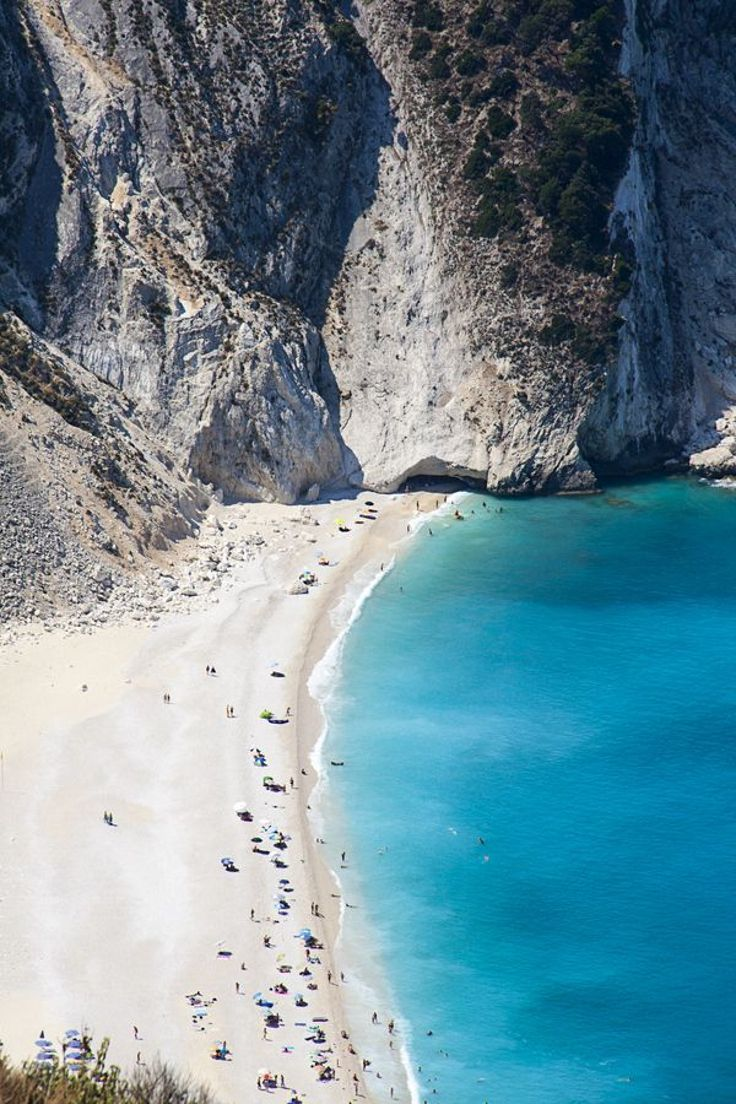 Top 10 Paradise Beaches In Greece.  Myrthos Beach, Kefalonia