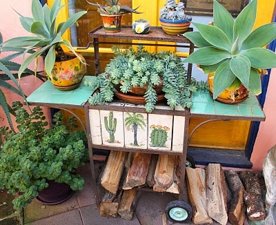 I want a colorful Mexican garden - click through for lots of photos