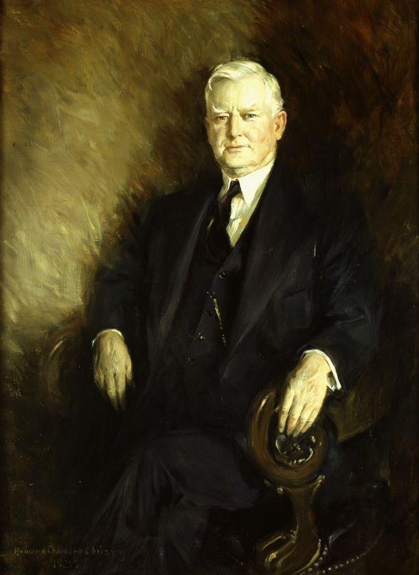 John Nance Garner by Howard Chandler Christy