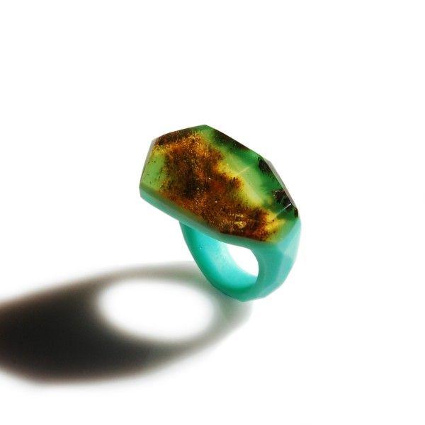 mint FRAME Ring / size 19 - monopolka