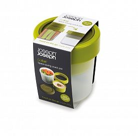 Ланч-бокс компактный Joseph Joseph GoEat™ зелёный 81025