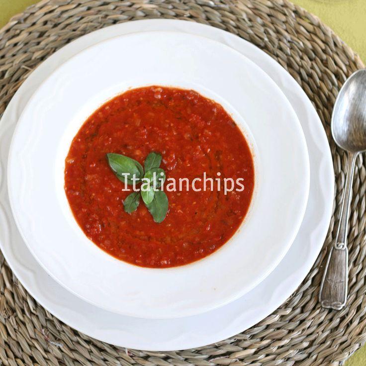 Zuppa di pomodoro deliziosa