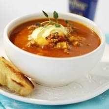 Currydoftande köttfärssoppa - Recept - Tasteline.com
