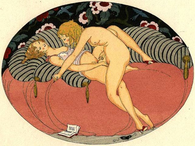 Artwork by Gerda Wegener