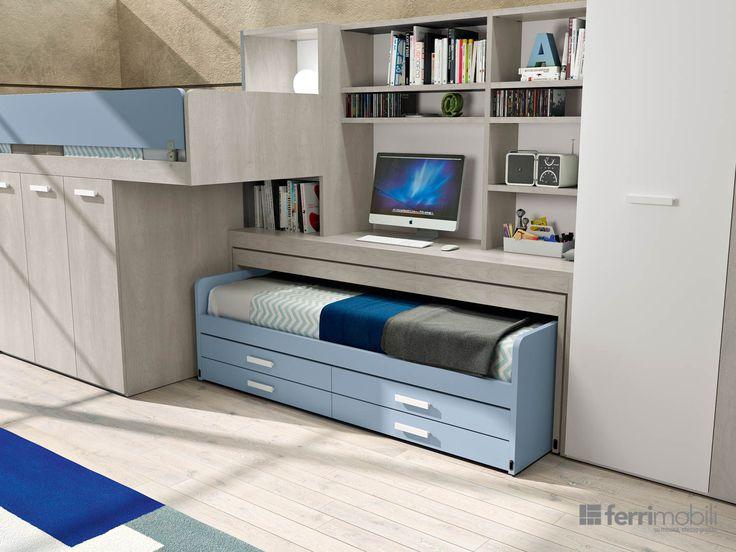 Ferri camerette ~ Best camerette moretti compact images child room