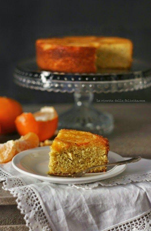 Torta Clementina rovesciata con clementine caramellate