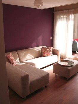 25 beste idee n over paarse woonkamers op pinterest slaapkamer kleuren paars paars grijze - Warme kleuren kamer ...