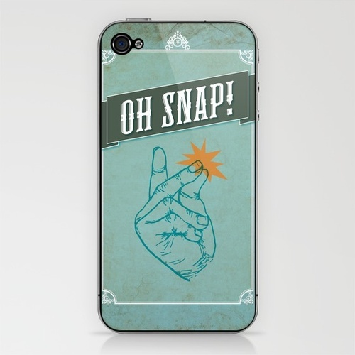 Oh Snap! iPhone & iPod SkinIphone Sleeve, Gift, Fun Iphone, Awesome, Funny, Ipods Skin, Iphone Myphon, Things Products, Phones