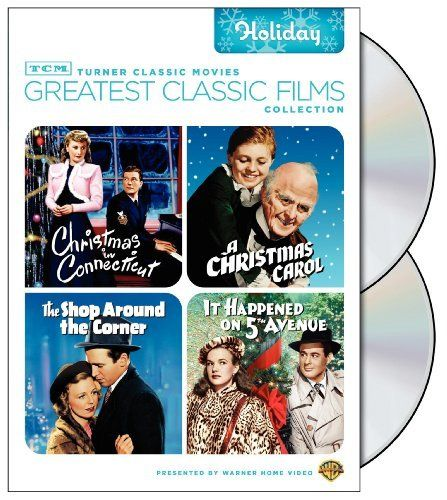 TCM Greatest Classic Films Collection: Holiday (Christmas in Connecticut / A Christmas Carol 1938 / The Shop Around the Corner / It Happened on 5th Avenue) DVD ~ 12.49 amzn