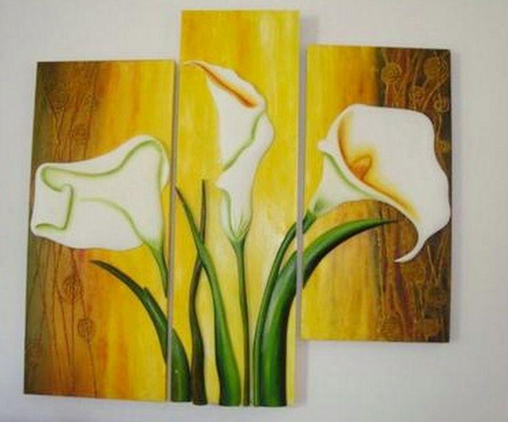 pintura y fotografa artstica arte cuadros de flores modernas