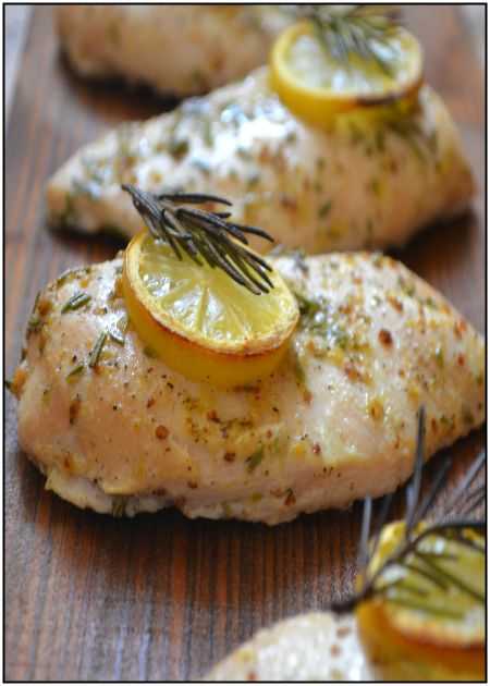 Griddled lemon & rosemary chicken breast served on a hot potato salad   http://www.ibssanoplus.com/low_fodmap_lemon_rosemary_chicken_breast.html