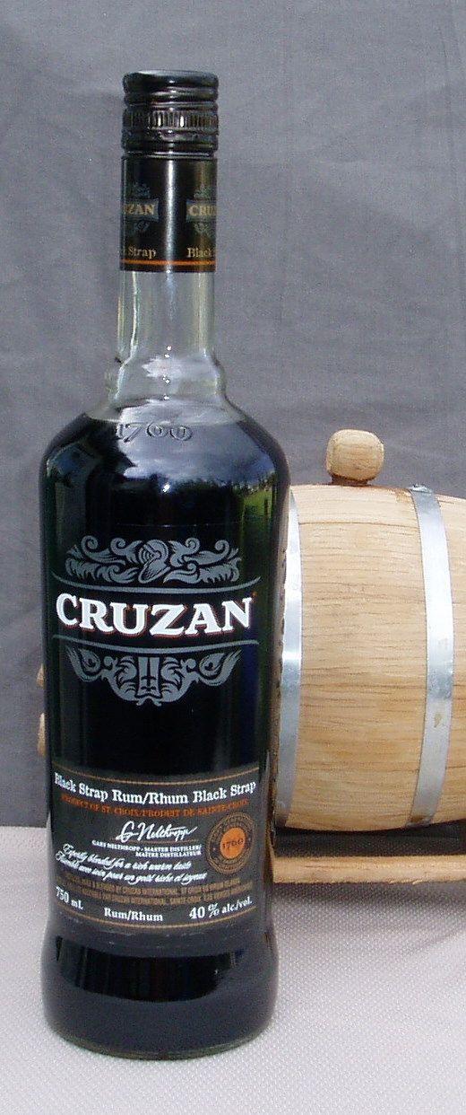 """Cruzan Blackstrap Rum - """"Once you black, you'll never..."""" P-)"""