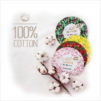 [DearPacker] Jeju Flower Mask Sheet 4Pcs -Cherry Blossom, Camellia, Cactus
