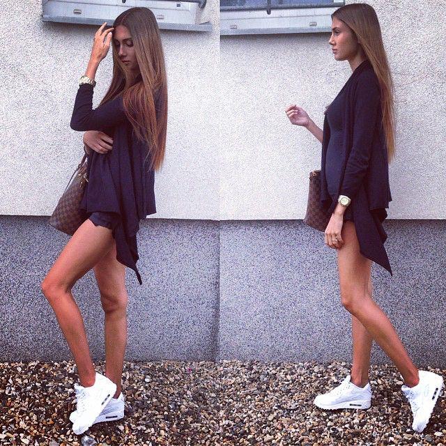 Nike Air Max 90 Robes Pour Femmes Blanches De geniue réduction stockiste hj6ACv