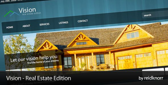 Vision - Real Estate Edition  #themeforest