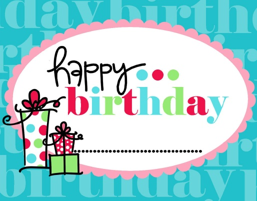 Happy Birthday Gift Tag.  place to get free printables you could use for cards