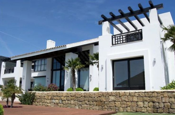 White country house in Benahavís, Málaga, Spain.