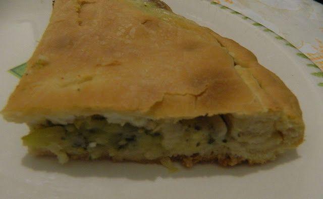in cucina con vanna: Pizza rustica con zucchine ricotta e mozzarella