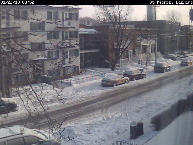 WebCam - St.-Pierre, Montreal, Canada - Web camera is sending the street scenery from my window in Montreal - Web Cameras around the world - Trip advisor, Hotels, Packages, Beaches