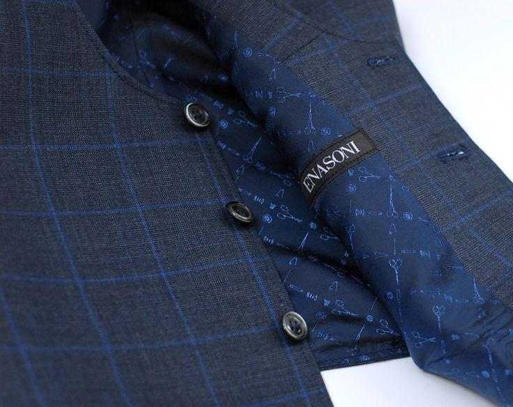 Custom-Made waist-coat for Mr.Cosmin C. in Bucharest.