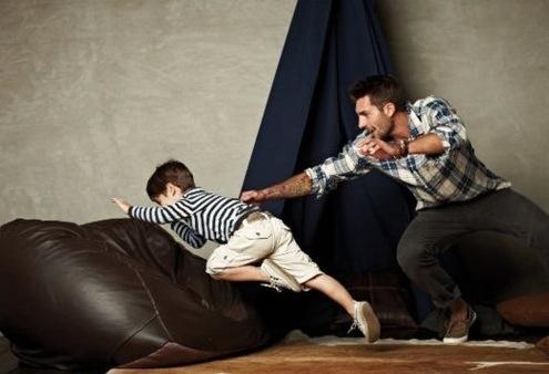 Plaid dad. #menswear #plaid #stripes #dad #boy