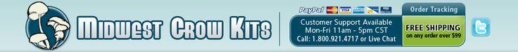 Midwest Grow Kits | Best Mushroom Grow Kits, Easy Mushroom Growing Kits, Premium Spawn Bags, Organic Substrate Jars, Bulk Mushroom Growing, Grow Mushrooms Fast