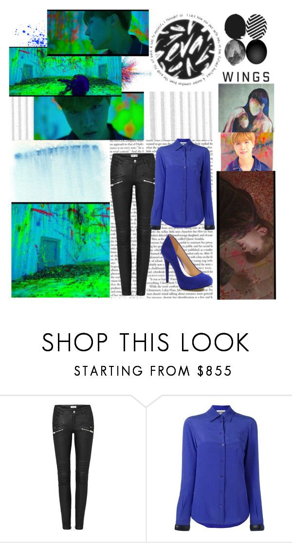 """""""BTS WINGS Short Film #6 MAMA"""" by jina-7 ❤ liked on Polyvore featuring Givenchy, Moschino and Jessica Simpson"""