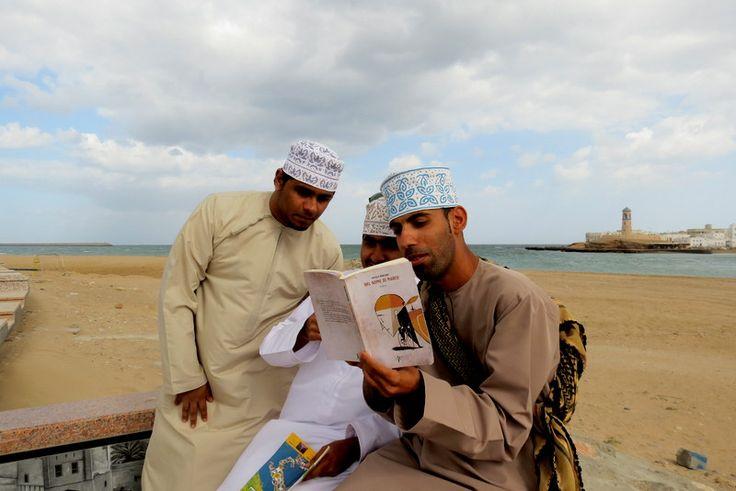 """My novel """"Nel nome di Marco"""" in Oman"""