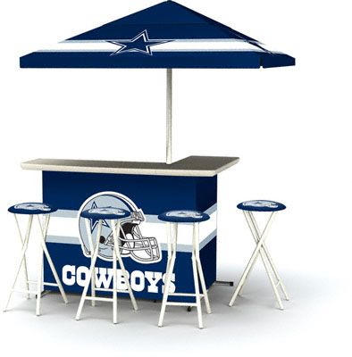 d98e2d132 Dallas Cowboys Portable Tailgate Bar Set