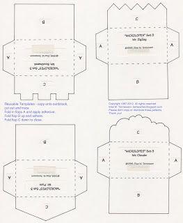 Best Junk Journal Templates Images On   Envelope